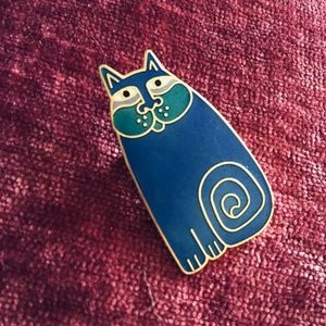 "Laurel Burch ""Olivia"" Cat Pin"